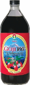 Dr. Lindsey's Goji100 - 100% Pure Goji Juice by Genesis Today - 32oz.