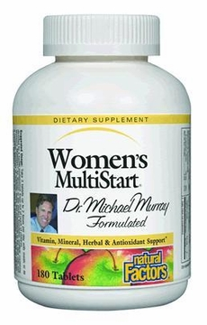 Dr. Murray MultiStart Women's by Natural Factors - 180 Tablets
