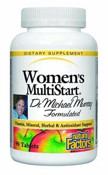 Dr. Murray MultiStart Women's by Natural Factors - 90 Tablets