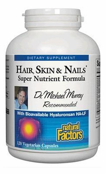 Dr. Murray's Hair Skin & Nails by Natural Factors - 120 Vegetarian Capsules