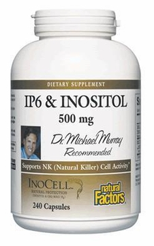 Dr. Murray's IP6 & Inositol by Natural Factors - 240 Capsules