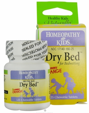 Dry Bed by Herbs for Kids - 125 Chewable Tablets