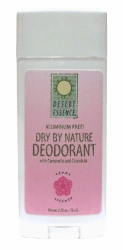 Dry by Nature Deodorant by Desert Essence - 2.75oz.