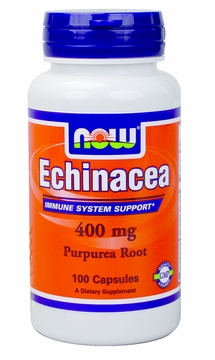 Now Foods Echinacea 400 mg - 100 Capsules