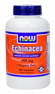 Now Foods Echinacea 400 mg - 250 Capsules