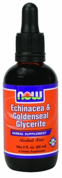 Now Foods Echinacea & Goldenseal Glycerite - 2 Fluid Ounces