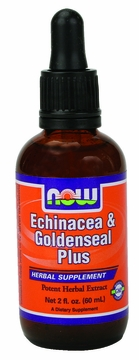 Now Foods Echinacea & Goldenseal Plus - 2 Fluid Ounces