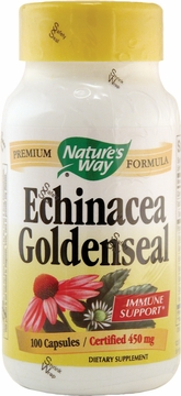 Echinacea Goldenseal by Nature's Way - 100 Vegetarian Capsules