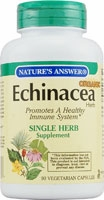 Echinacea Herb by Nature's Answer - 90 Vegetarian Capsules