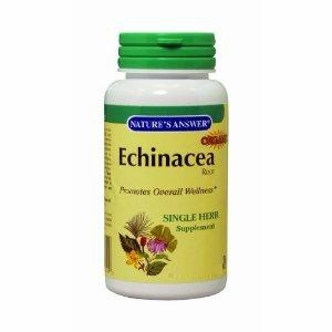 Echinacea Root by Nature's Answer - 60 Vegetarian Capsules