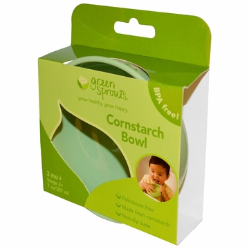 Eco-Friendly Cornstarch Bowl by Green Sprouts - 1 Bowl