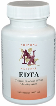 EDTA 600mg by Arizona Natural - 100 Capsules