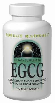 Source Naturals EGCG 350 mg - 120 Tablets