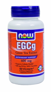 Now Foods EGCg Green Tea Extract 400 mg - 90 Vegetarian Capsules