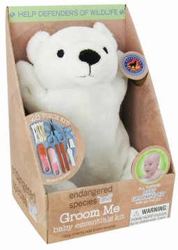 Health Science Labs Endangered Species Bear/Wild Cat Assorted Groom Me Baby Essential Kit
