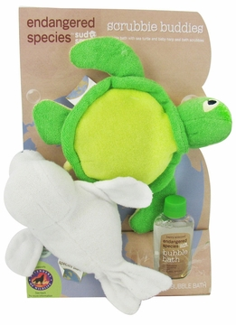 Health Science Labs Endangered Species Scrubbie Buddies Bath Set