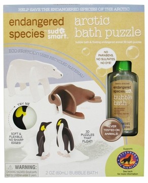 Health Science Labs Endangered Species Arctic Small Puzzle Bath Set