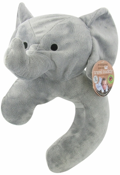 Health Science Labs Endangered Species Travel Buddy Asian Elephant Neck Pillow and Blanket