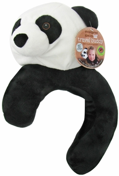 Health Science Labs Endangered Species Travel Buddy Giant Panda Neck Pillow and Blanket