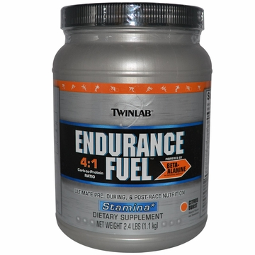 Twinlab Endurance Fuel Powder Citrus Burst Flavor - 2.4 Pounds