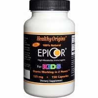 Epicor For Kids 125mg by Healthy Origins - 150 Capsules