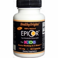 Epicor For Kids 125mg by Healthy Origins - 60 Capsules