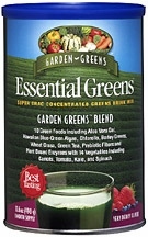 Essential Greens Drink Mix Very Berry by Garden Greens - 17.5oz. Powder