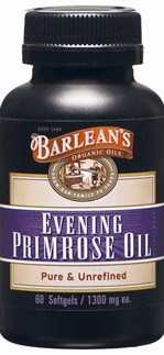 Evening Primrose Oil by Barlean's - 60 Softgels
