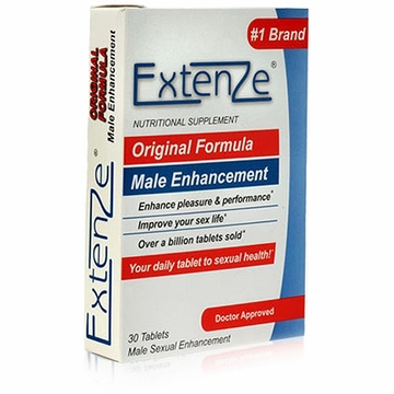 Extenze Original Formula Male Enhancement by Extenze Company - 30 Tablets