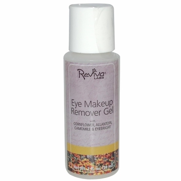 Reviva Labs Eye Makeup Remover Gel - 2 Fluid Ounces