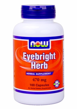 Now Foods Eyebright Herb 410 mg - 100 Capsules