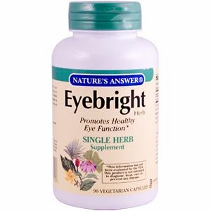 Eyebright Herb Gel by Nature's Answer - 90 Vegetarian Capsules