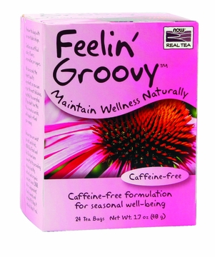 Now Foods Feelin' Groovy Tea - 24 Tea Bags