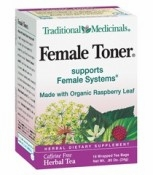 Female Toner Tea By Traditional Medicinals - 16 Bags