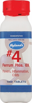 Ferrum Phosphoricum 6X by Hylands - 1000 Tablets