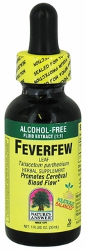 Feverfew Leaf Alcohol Free by Nature's Answer - 1oz.
