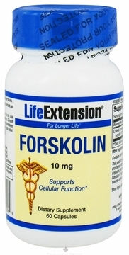 Forskolin 10 mg by Life Extension - 60 Capsules