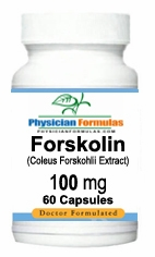 Forskolin 100mg by Advance Physician Formulas - 60 Capsules