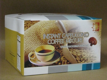 Ganoderma Instant Cappuccino Coffee Mixture by Diamond Interest - 15 Sachets