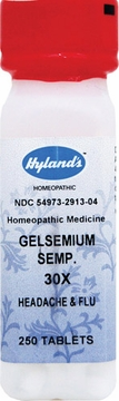 Gelsemium Sempervirens 30X by Hylands - 250 Tablets