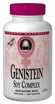 Source Naturals Genistein Soy Complex 1000 mg - 120 Tablets