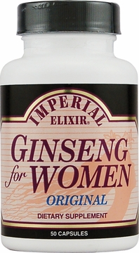 Ginseng for Women Original by Imperial Elixir Ginseng - 50 Capsules