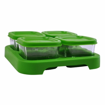 Glass Baby Food Storage Cubes by Green Sprouts - 4 Pack