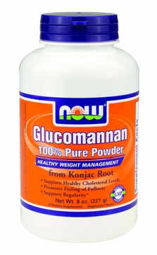 Now Foods Glucomannan Pure Powder - 8 Ounces