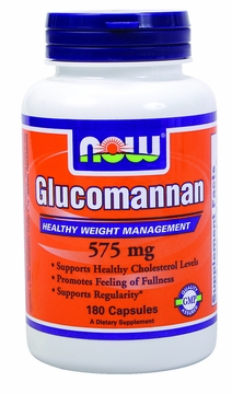 Now Foods Glucomannan 575 mg - 180 Capsules
