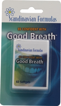 Good Breath Capsules by Scandinavian Formulas - 60 Softgels