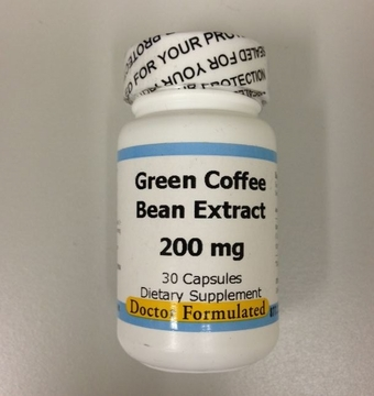 Green Coffee Bean Extract 200 mg by Advance Physician Formulas - 30 VCapsules