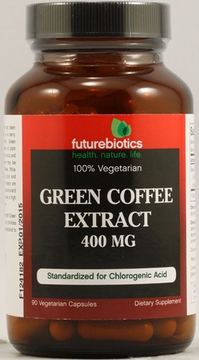 Futurebiotics Green Coffee Extract - 90 Vegetarian Capsules