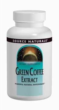 Source Naturals Green Coffee Extract 500 mg - 60 Tablets
