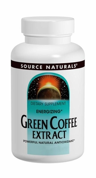 Source Naturals Energizing Green Coffee Extract 500 mg - 30 Tablets